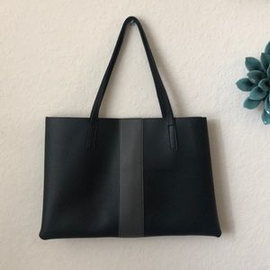 Vince Camuto black leather purse